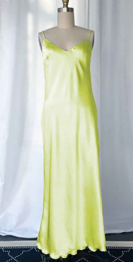 Petit Mioche silk slip dress - sunrise