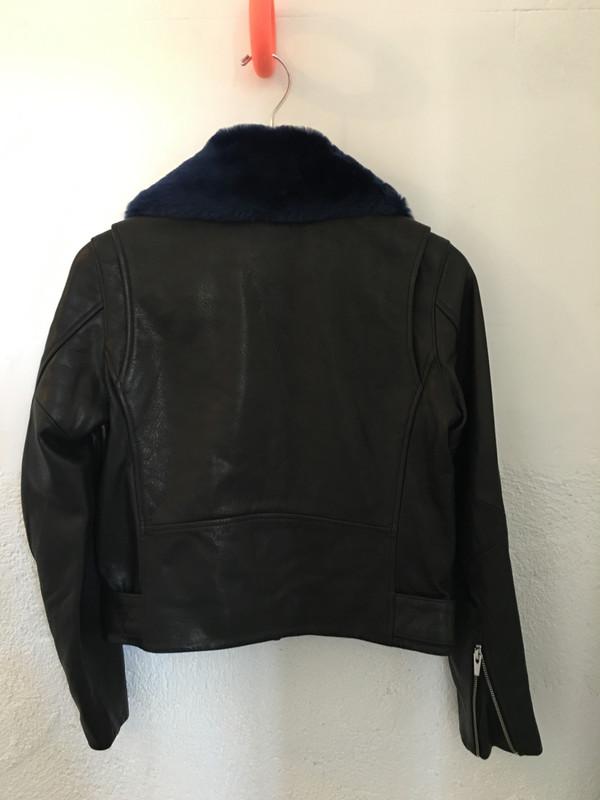 Veda National Leather Jacket