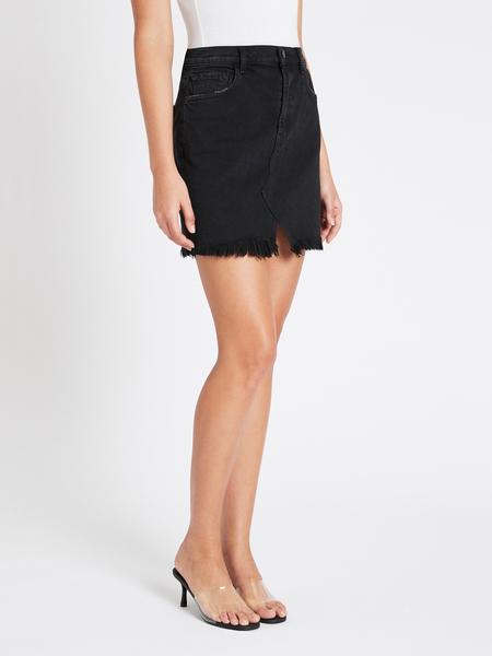 J Brand Jules High Rise Skirt - Black