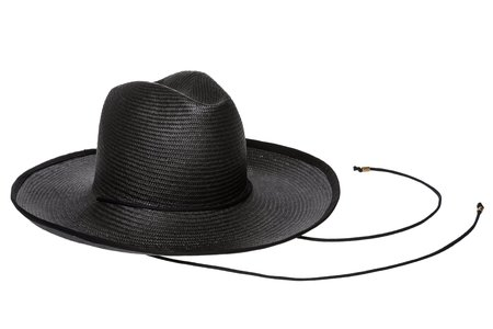 Clyde Western Hat - Black/Black Trim