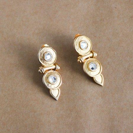 Karl Lagerfeld Vintage Clip-On Earrings