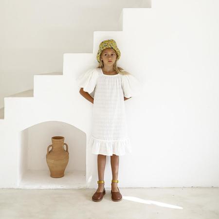 Yoli & Otis Alda Kid's Dress - White