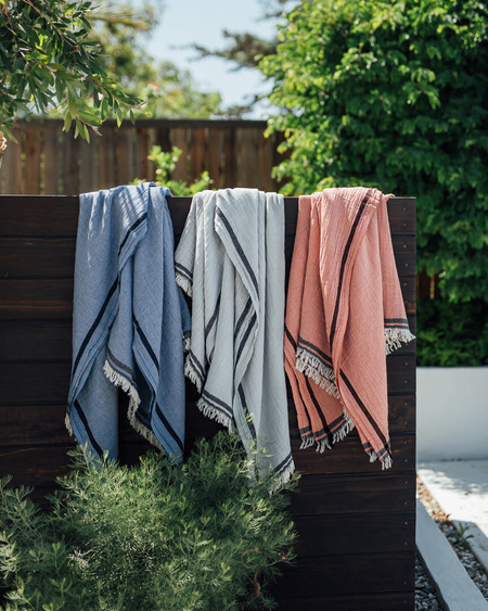House No.23 Handwoven Cotton Naz Throw