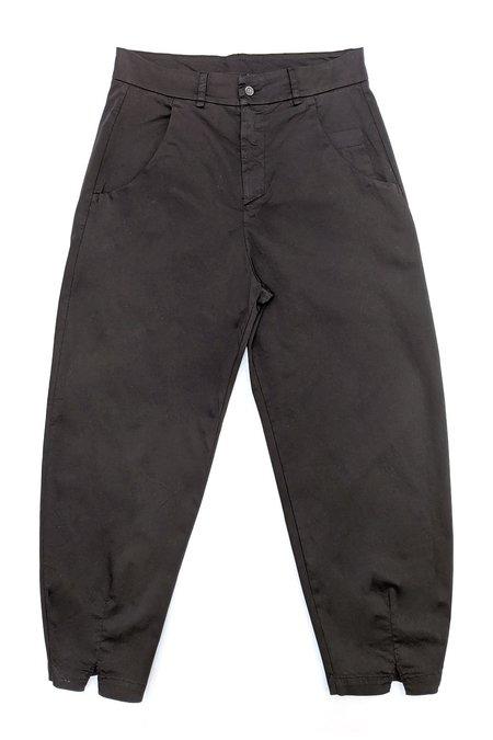 Transit Par Such Cotton Trousers - Black