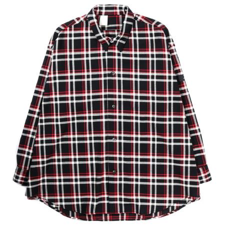N.Hoolywood Undercover Shirt - BLACK CHECK