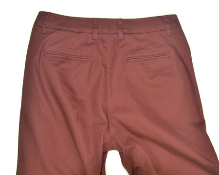 Supernat'l Washed Twill Slouch Pant - RED