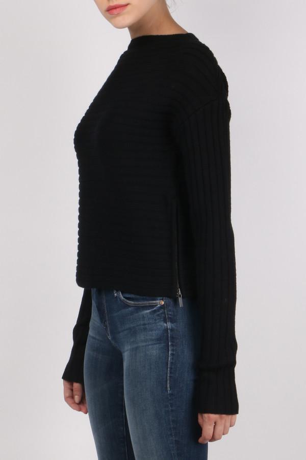 Tibi Merino Rib Sweater Pullover