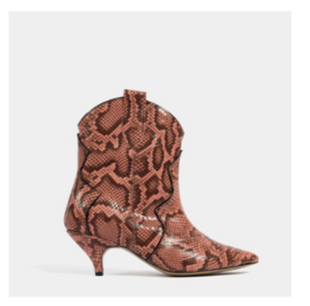L37 Reach Out To Me Bootie - Coral