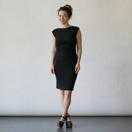 Study NY Twist Dress in Black