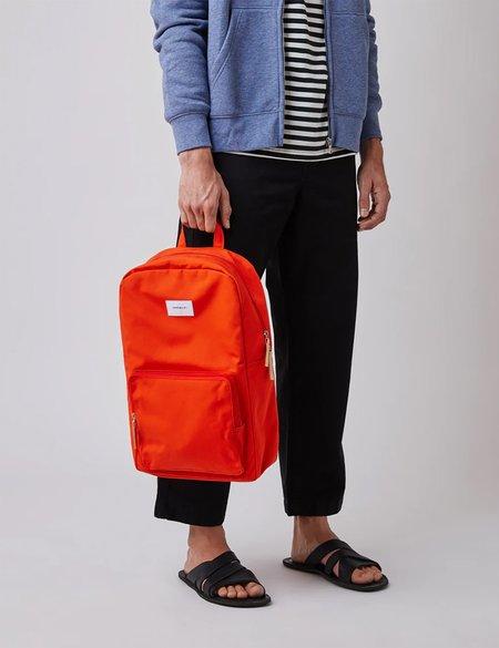 Sandqvist Kim Ground Canvas Backpack - Red