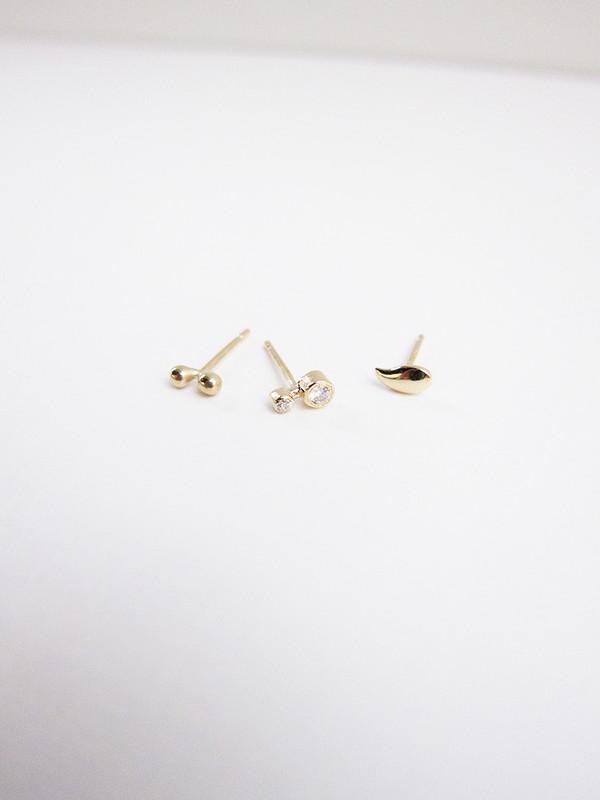 Quarry Palme Stud Earring