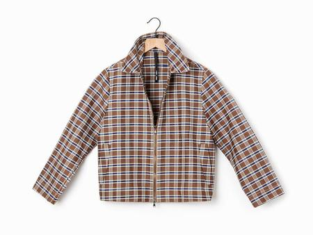 Sara Lanzi Barracuda Jacket - Brown/White