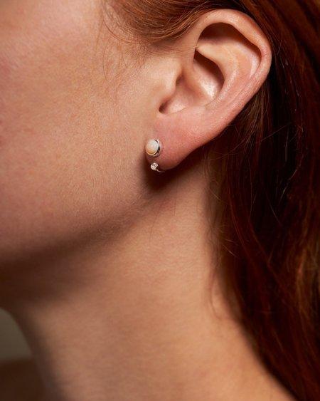 Pamela Love Gravitation Earrings - white