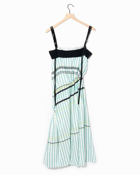 Cedric Charlier Ruched Dress