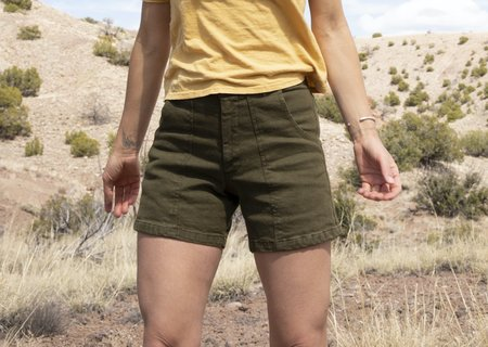 Jungmaven Supply Venice Shorts - Green