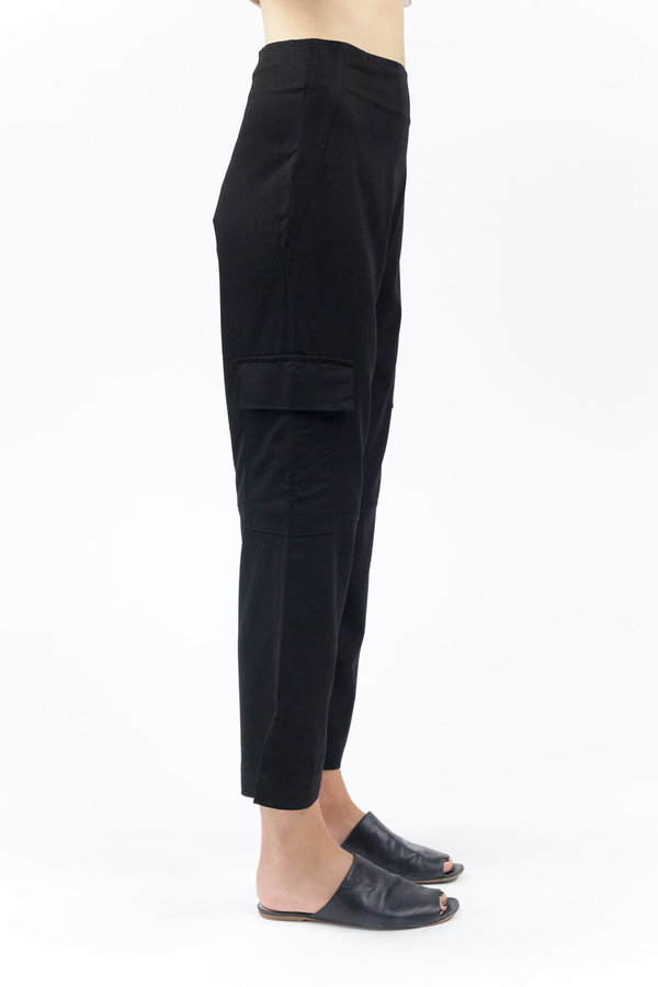 House of Sunny Action Cigarette Pant - Black