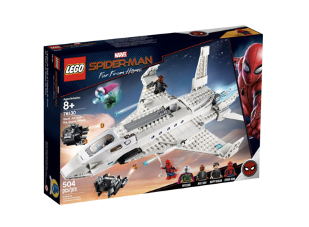 Lego Spider-Man 2 Homecoming Stark Jet and Drone Attack