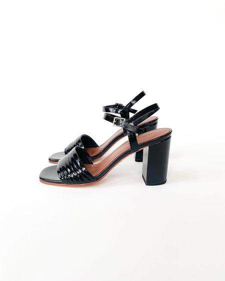 No.6 Prague Sandal - Ink Leather