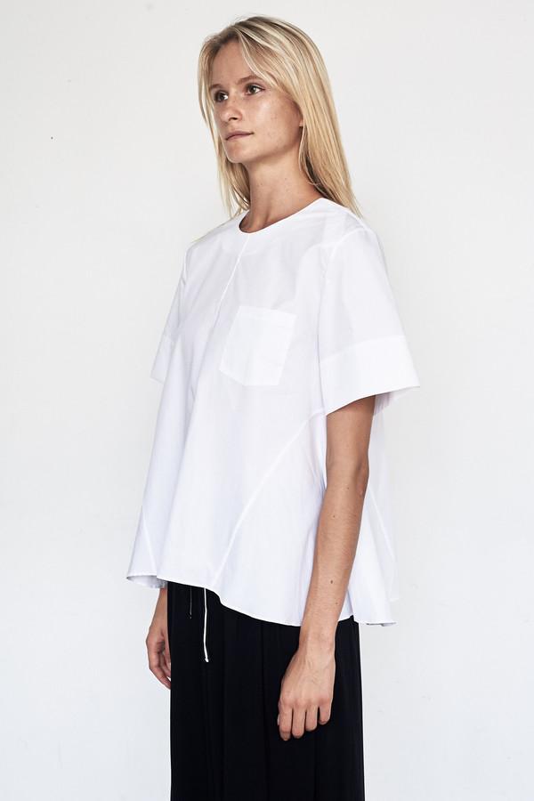 Fabiana Pigna Cotton Larissa Blouse - White