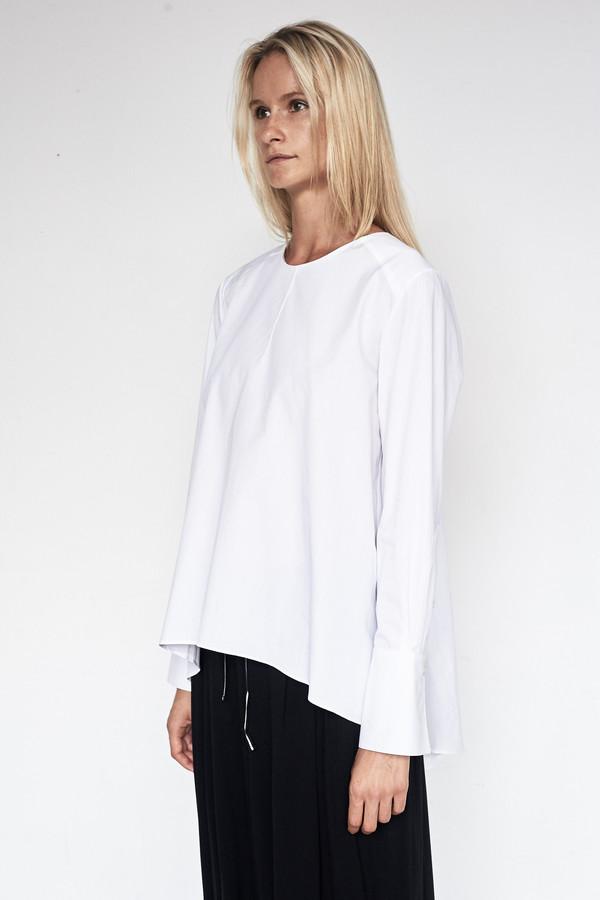 Fabiana Pigna Cotton Luisa Blouse - White