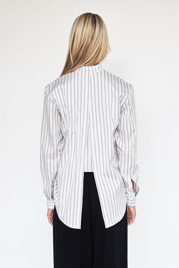 Assembly New York Cotton Stripe Calla Top