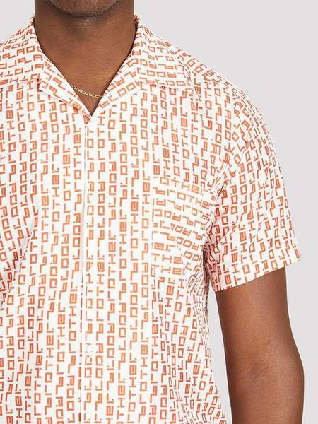 Blood Brother Raoul Printed Shirt - White