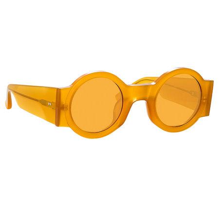Dries Van Noten 98C Round Sunglasses