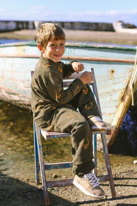 Kids ARTEMIS & APOLLON ALLOVER LYRE SWEATPANTS