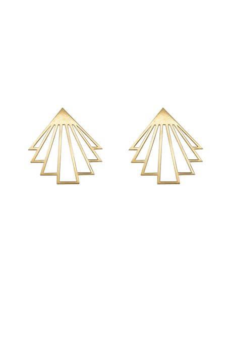 ARTPECKERS CIRCE EARRINGS - Gold Plate
