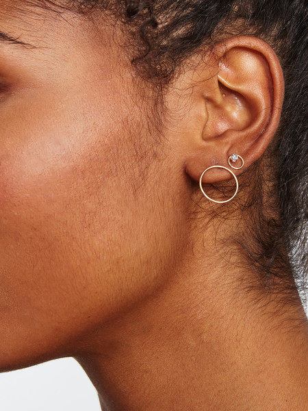 WINDEN LARGE GWYNNE EARRING / 14K