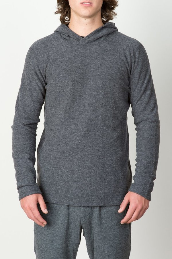 Men's Wings + Horns -  Felted Wool Pullover