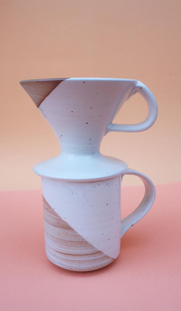 Sanny Ceramics -  Ceramic Coffee Pour Over