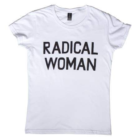 Banquet Atelier & Workshop Radical Woman Tee - white