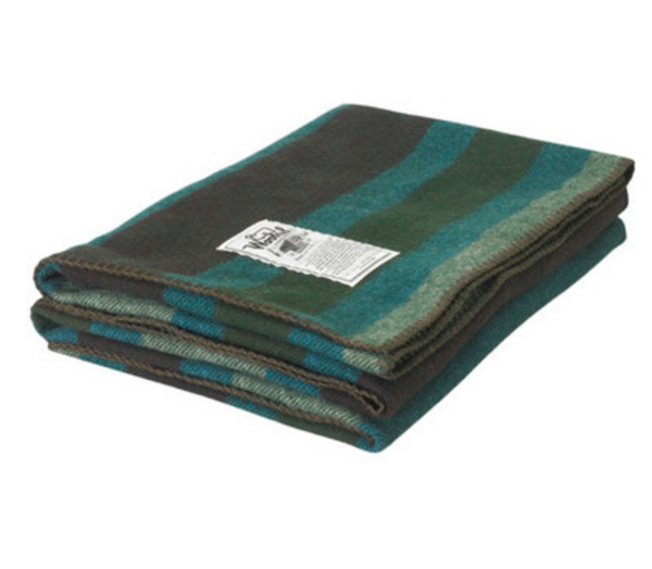 Woolrich Rough Rider Plaid Wool Blanket