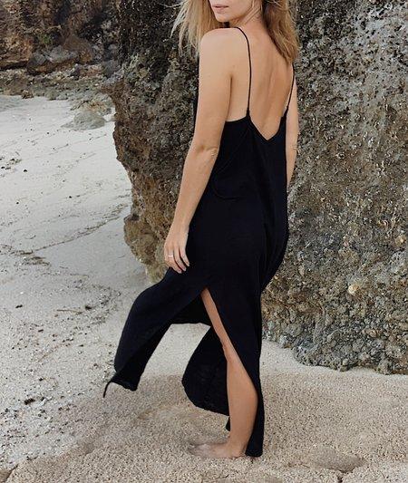BAHHGOOSE ROSE DRESS - black