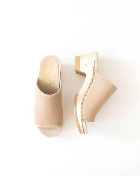 No.6 Daria Mid Heel Clog - Bone