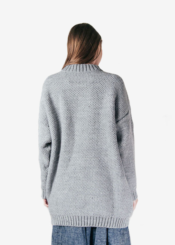 Suzanne Rae - Honeycomb Oversized Sweater
