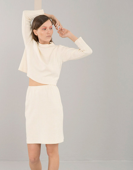 Elise Ballegeer Ribbed Skirt