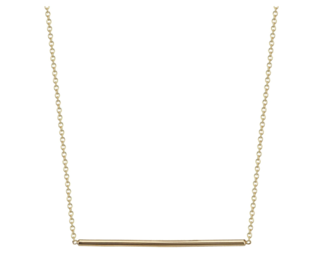 Gabriela Artigas Line Necklace - 14k gold