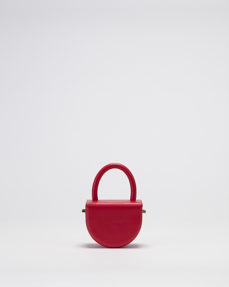 Audette Mini Buit Bag - Bright Red