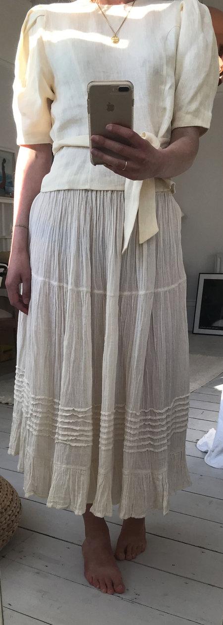 Las Ninas Skirt - Cream