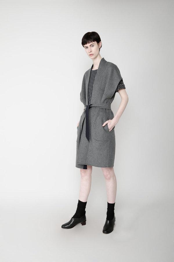 7115 by Szeki Reversible kimono Kimono Vest