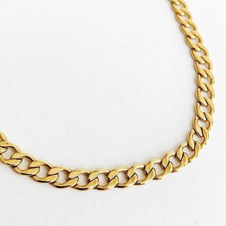 Bijoux B Chunky Choker 15 Necklace GF - 14K gold fill chain