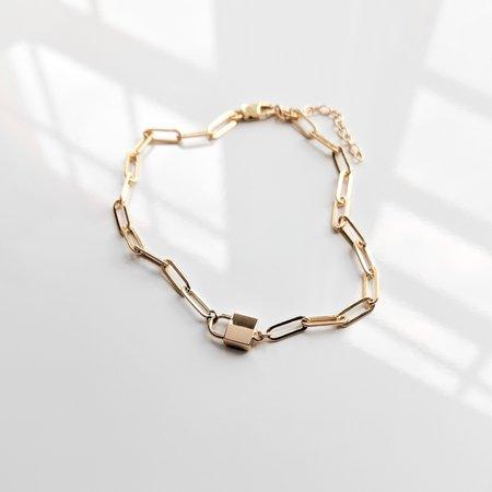 Thatch Jessa Lock Bracelet - 14K Gold