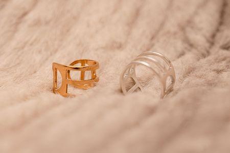 PAR ICI Tri-Line Ring