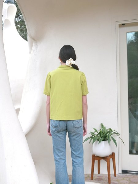 Plante Cedar Blouse - Citrine