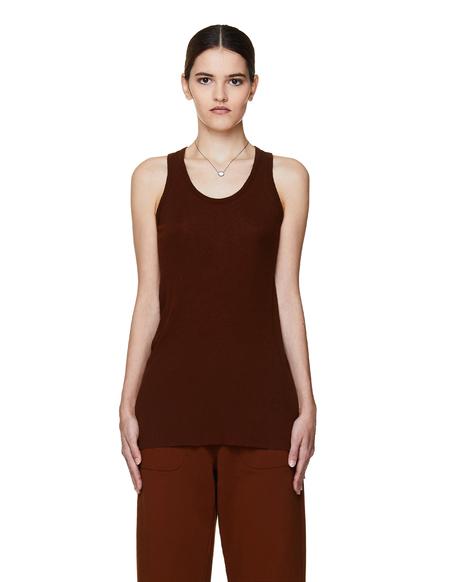 Haider Ackermann Cotton Top - Brown