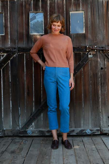 Me & Arrow Tomboy Pants - Vintage Wash Denim