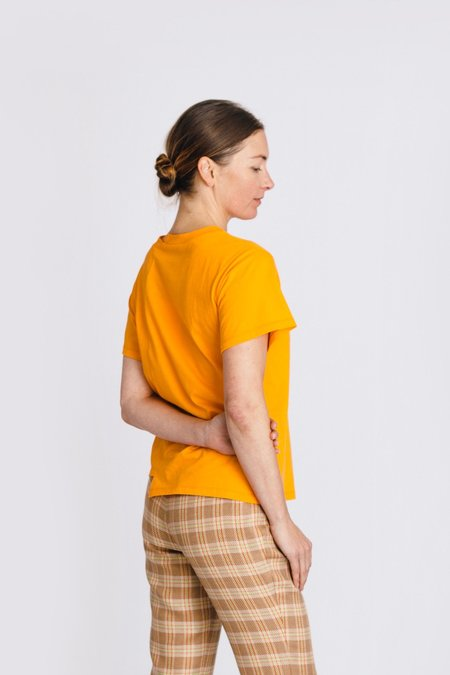 Rejina Pyo Sabrina T-Shirt - Orange