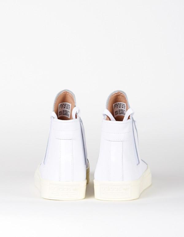 Adidas CourtVantage Slip Mid Sneaker White